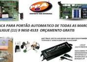Placa para portão automatico 99424 6803