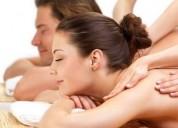 Massagem unissex e relaxamento