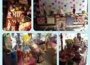 Buffet festa junina completa com barraquinhas