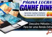 Página lucrativa - web site