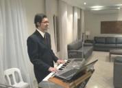 Musica ao vivo cantor e tecladista casamentos e festas