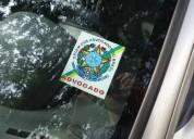 Adesivo advogado - advogada  para colocar no vidro do carro