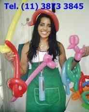 curso de esculturas com balões , curso de camarim fashion