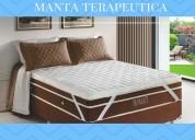 Manta quântica 15 tipos de massagens 1,38 x 1,88 padrão