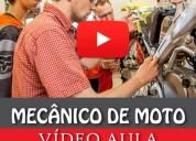 Curso mecânico de moto completo (vídeo aula)