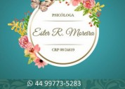 Ester rodrigues moreira | psicóloga | maringá
