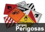 Regularização p/ o transporte produtos perigosos