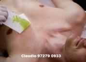 Depilação masculina - taquara. aceito cartão