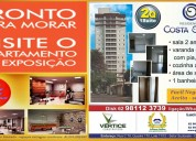 Apartamento pronto para morar 2 quartos 1 suite 1 vaga privativa setor suodeste