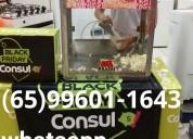 Máquina de festas algodão doce cuiaba (65)99250/4047