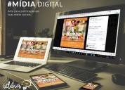 Artes para redes sociais midia digital