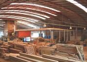 Tradicional indústria e comércio de madeiras