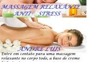 Massagem relaxante corporal