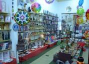 Loja de decoração e livraria esotérica