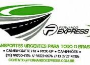 Transportes para todo o brasil