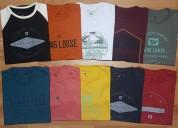 Kit 10 camiseta surf + 1 tenis de brinde.