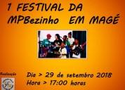 1 festival da mpbezinho em magÉ