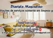 Diarista masculino (11) 9 7083-9546