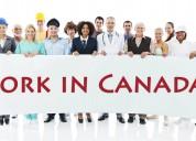 Viajar e trabalhar no exterior no canadá com o san