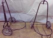 Carrinho para botijão de gas e galão de agua