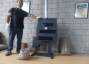 Calefactor estufa a pellet meelko 10000 kcal no ga