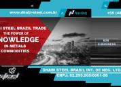 Bobinas nacionais e importadas dhabi steel brasil