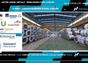 Aço plano nacional e importado dhabi steel brasil