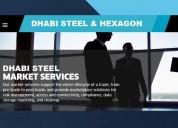 Bobinas de aço nacional e importada dhabi steel