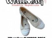 Calçados magnéticos masculinos e femininos