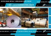 Dhabi steel brasil aço plano em bobinas chapas