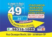 Cartão de visita r$ 49 98316-1088-whatsapp