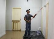 pintura residencial apartamento e grafiato