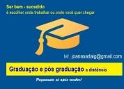 Diploma de gradua ead e pague após receber