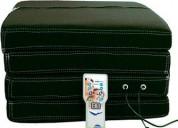 Esteiras massageadora com 14 tipos de massagens