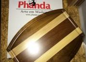 Tabuas de madeira gourmet