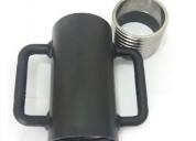 Escora metálica caneca rosca p tubo de 63,50