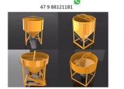 Caçamba balde içar concreto p grua