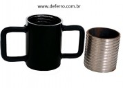 Rosca caneca kit p escora metalica