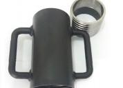 Escora metálica caneca rosca p tubo de 60,30