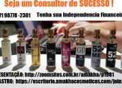 Seja um consultor de perfume amakha paris
