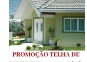 Promoção de telha concreto