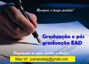 Diploma de pós graduação e pague só após receber