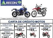 Consorcio de motos novas zero km !