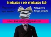 Diplomas superior e pós e pague só após receber