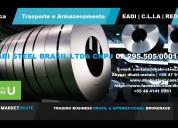 Bobina de aço galvanizado zincado dhabi steel