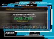 Bobina de aço com a dhabi steel
