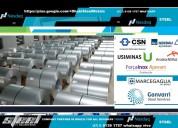 Dhabi steel bobinas de aço galvalume e galvanizado