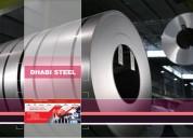 Bobina de aço galvalume zincalume dhabi steel