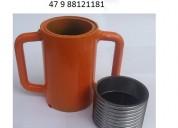 Caneca rosca luva kit p escora metalica 47 8812118
