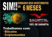 Negócio de investimento do brasil
